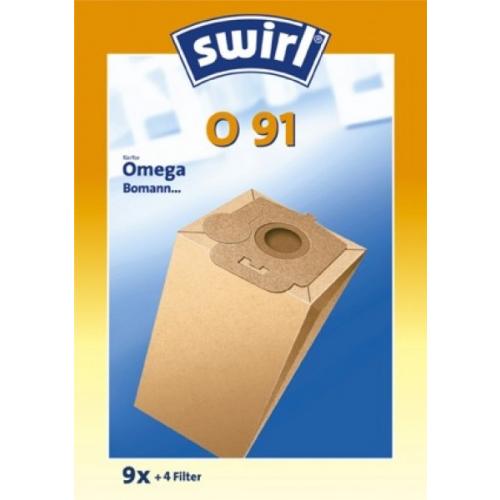 Swirl O91 Staubsaugerbeutel