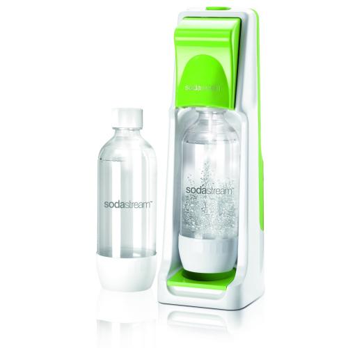 SodaStream Wassersprudler Cool (mit 1 x CO2-Zylinder 60L und 2 x 1L PET-Flaschen) grün