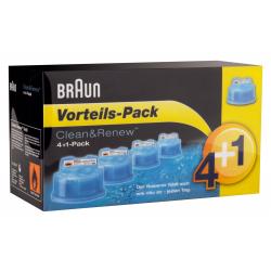 Braun CCR 4 + 1  Cleaning cartridge Reinigungskartuschen für alle Braunreinigungsstationen CCR