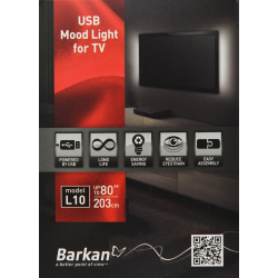 Barkan L10 USB Mood Light für  TV Hintergrundbeleuchtung